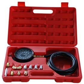 Тестер давления масла AE&T TA-G1009, 0-500 PSI, 0-35 атм, шланг 600 мм, 1/8' Ош