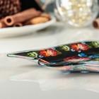 Блюдо сервировочное Доляна «Колокольчик. Цветы», 18×17,2 см - Фото 2