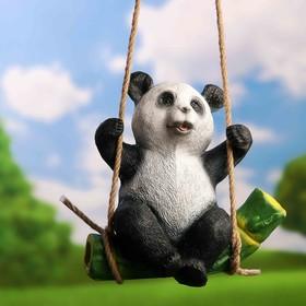 Подвесной декор 'Панда на бамбуке' 24х15х25см Ош