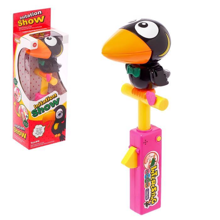Говорящая игрушка Каркуша-повторюша, с функцией записи голоса