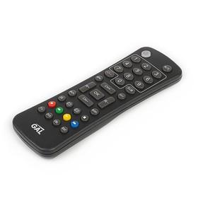 Пульт ДУ GAL LM-P150, универсальный, для ТВ, ресиверов и т.д., 36 кнопок, черный Ош