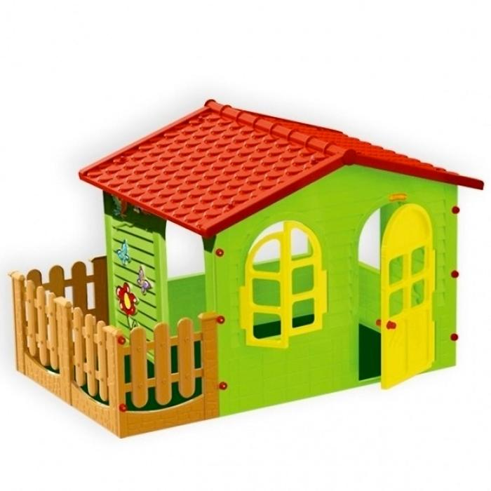 Домик с забором Mochtoys садовый