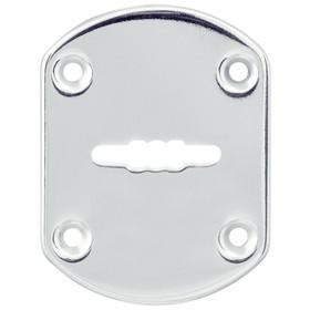 Декоративная накладка Punto ESC021/0-SS, без шторки, нержавейка, 1 шт. Ош