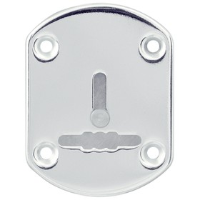 Декоративная накладка Punto ESC021/1-SS, со шторкой, нержавейка, 1 шт. Ош