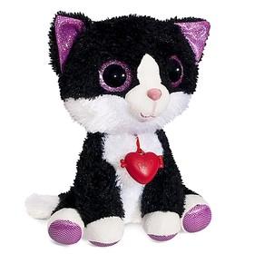 Мягкая игрушка «Глазастик Котик», 23 см