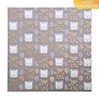 Бумага для скрапбукинга с фольгированием «Мой маленький король», 30.5 ? 30.5 см, 250 г/м