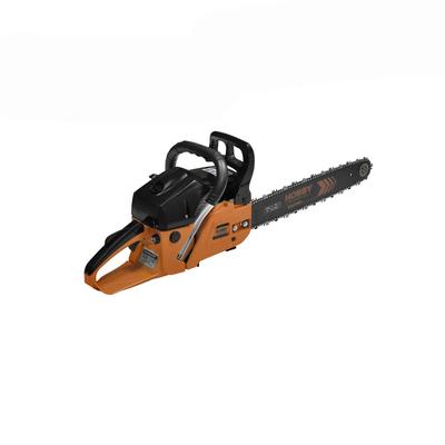 """Пила CARVER HOBBY HSG 158-18, бензиновая, шина 18"""", 0.325-1.5-72 зв., 58 куб.см, 3л.с - Фото 1"""