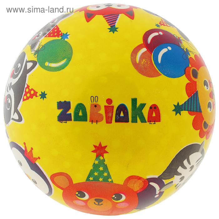 Мяч детский «Животные», d=22 см, 60 г