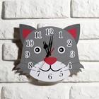 """Часы настенные, серия: Детские, """"Кот"""", 24 см"""