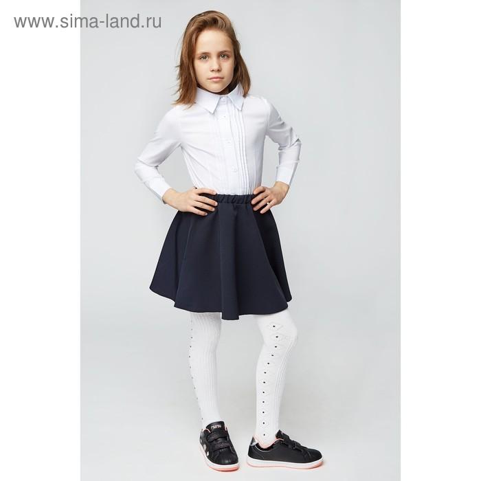 Блузка для девочки, цвет белый, рост 140 см (40)