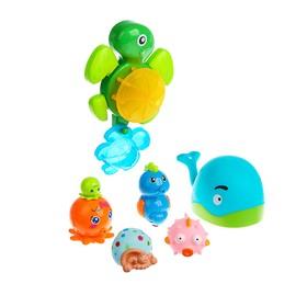 Набор игрушек для ванны «Морские жители», 7 шт.