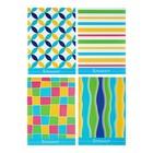 Блокнот А6, 40 листов на скрепке Calligrata «Орнамент», обложка картон хром-эрзац