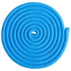 Скакалка гимнастическая 2,5 м, верёвочная, утяжеленная, 150 г, с люрексом, цвет МИКС