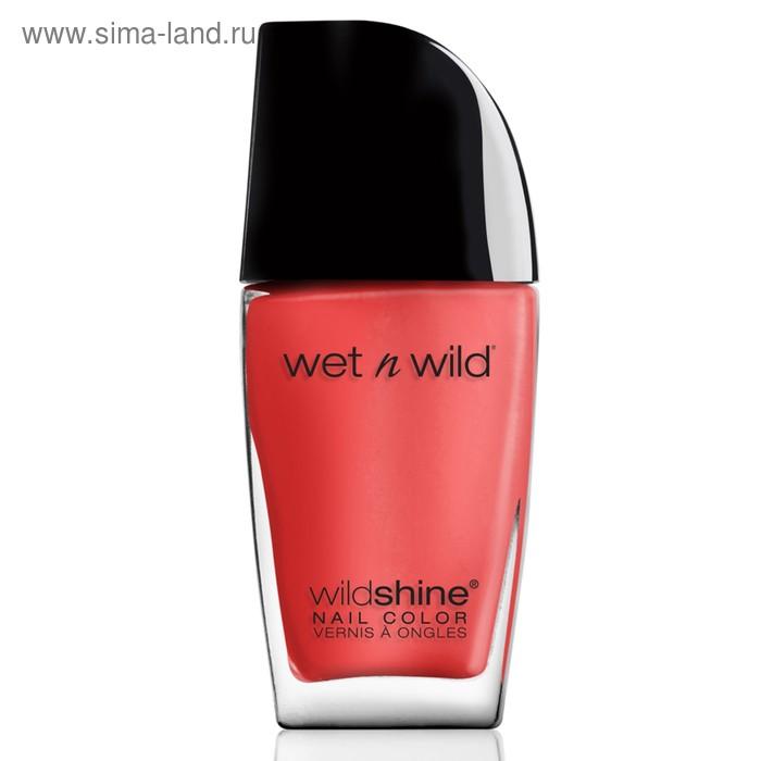 Лак для ногтей Wet n Wild Wild Shine Nail Color, тон E475c grasping at strawberries, 12 мл