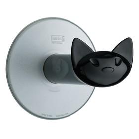 Держатель для туалетной бумаги MIAOU, серый