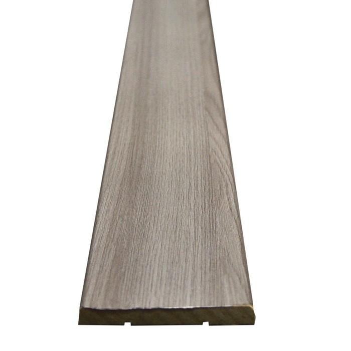 Наличник МДФ плоский Шимо светлый 7,5х70х2150 мм