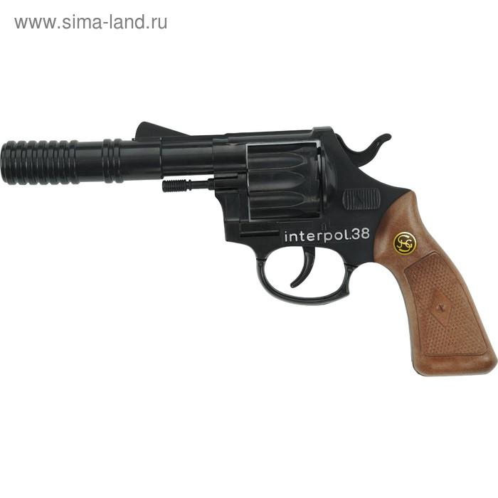 Пистолет «Interpol38», 12-зарядный, 23 см