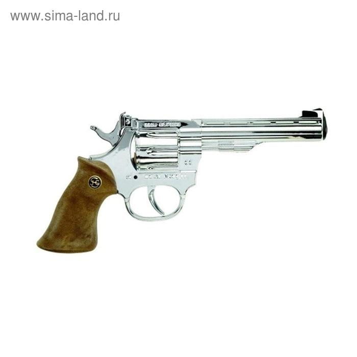 Пистолет «Kadett silber», 100-зарядный, 19 см, упаковка-короб