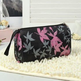 Косметичка-сумочка, отдел на молнии, цвет чёрный Ош
