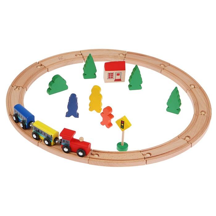 """Железная дорога """"Поезд в лесу"""""""