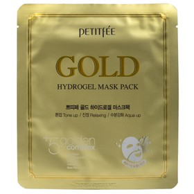 Гидрогелевая маска для лица Petitfee, с золотым комплексом