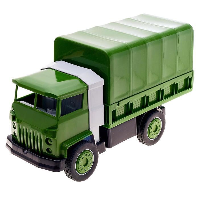 «Военный автомобиль с тентом»
