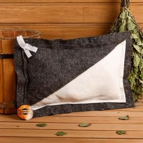 Подушка комбинированная, войлок, 50×33см Ош