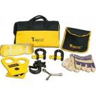 Набор аксессуаров T-Max (блок, шаклы, стропа, крюк, перчатки)