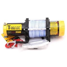 Лебедка электрическая T-Max ATW PRO 3500 с синтетическим тросом Ош