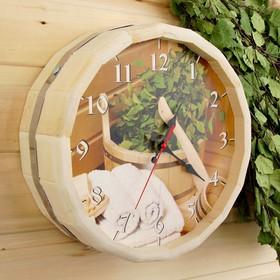 Часы банные бочонок 'Банные штучки' Ош
