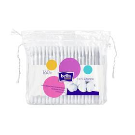 Ватные палочки Bella Cotton, 160 шт. в пакете с веревочками