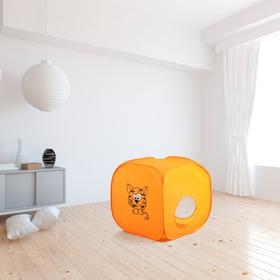 Палатка детская «Домик. Весёлый тигрёнок», 60 × 60 × 60 см Ош