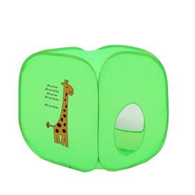Палатка детская «Домик. Жирафик», 60 × 60 × 60 см Ош