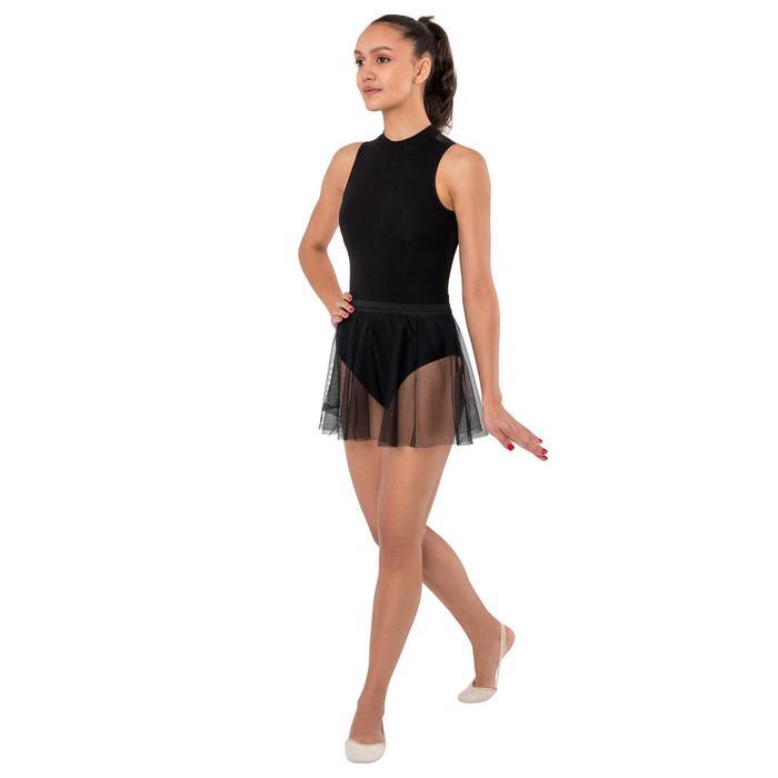 Юбочка гимнастическая, сетка, размер 40-42 (L), цвет чёрный