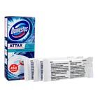 Стикер для очищения унитаза Domestos Attax «Морская свежесть», 3 шт. по 10 г - Фото 2