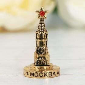 Фигурка «Москва. Спасская башня», под золото Ош