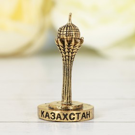 Фигурка «Казахстан. Байтерек», под золото Ош