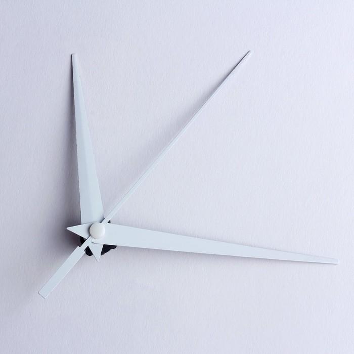 Комплект из 3-х стрелок для часов, белые 7593143 фасовка 100 наборов