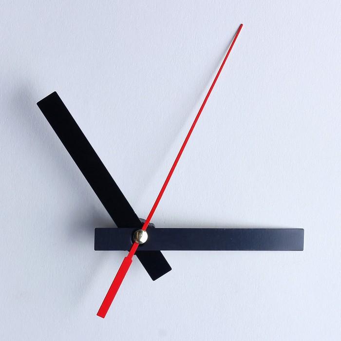 Комплект из 3-х стрелок для часов чёрные 6895143 фасовка 100 наборов