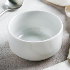 Чашка для бульона «Бельё», 300 мл, цвет белый Ош