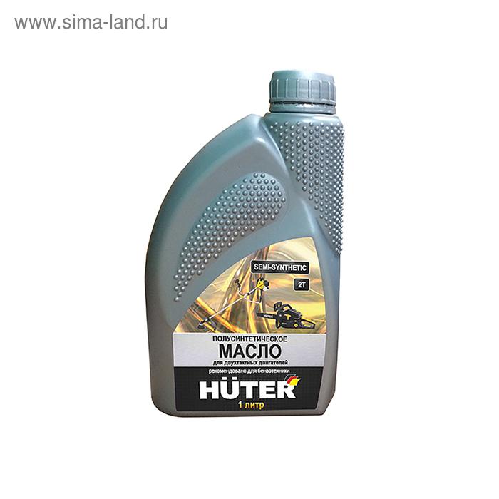 Масло Huter 2Т, для двухтактных двигателей, 1л