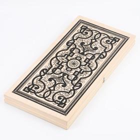 Нарды 'Восток', деревянная доска 50х50 см,  микс Ош