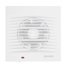 Вентилятор осевой, москитная сетка, d=100 мм, 220 В, 15 Вт, белый Ош
