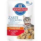 Влажный корм Hill's Cat для стерилизованных кошек, лосось в соусе, пауч, 85 г