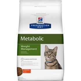 Сухой корм Hill's PD Metabolic для кошек, контроль веса, курица, 1,5 кг
