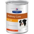 Влажный корм Hill's Dog k/d для собак, лечение почечной недостаточности, ж/б, 370 г