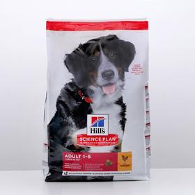 Сухой корм Hill's SP для собак крупных пород, здоровье суставов и мышц, курица, 12 кг