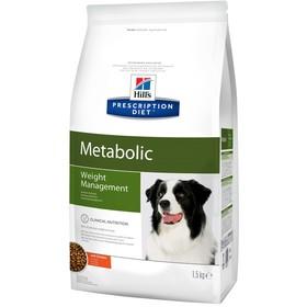 Сухой корм Hill's PD Metabolic для собак, контроль веса, 1.5 кг