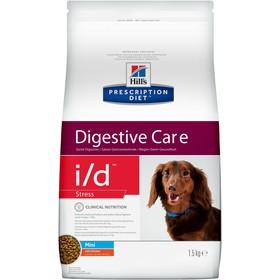 Сухой корм Hill's PD i/d stress mini для собак мелких пород, при расстройствах ЖКТ, 1.5 кг