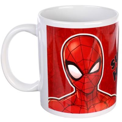 "Кружка ""Super Hero"", Человек-паук, 350 мл - Фото 1"